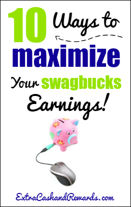Want to earn more cash and rewards with Swagbucks? Here's a list of ten ways you can effectively maximize your Swagbucks earnings!