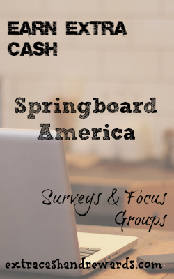 Springboard is one of the more reputable survey panels out there that pays in cash, not rewards. They've been around for a while and the feedback from users is quite good. If you're looking for another survey site to add to your collection, look no further.