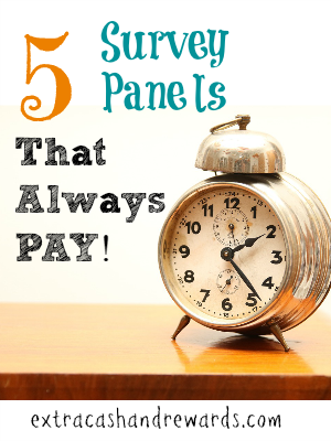 "Tired of ""screening-out"" or being disqualified for surveys and not getting paid for your time? Try some of these panels!"