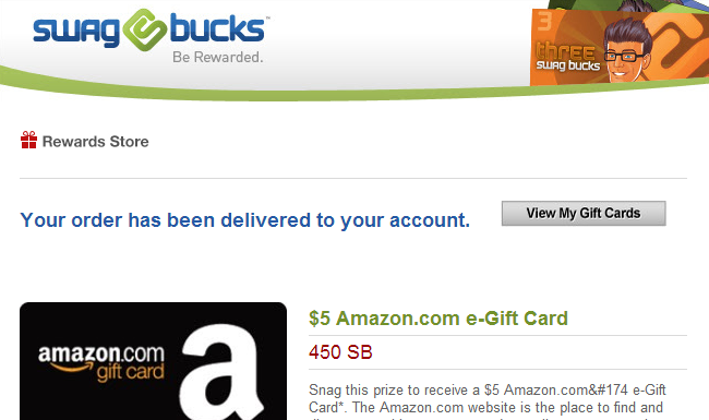swagbucks payment proof