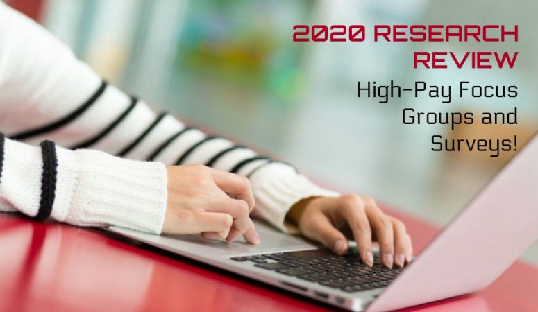 2020 Research Panel Review – High-Paying Surveys