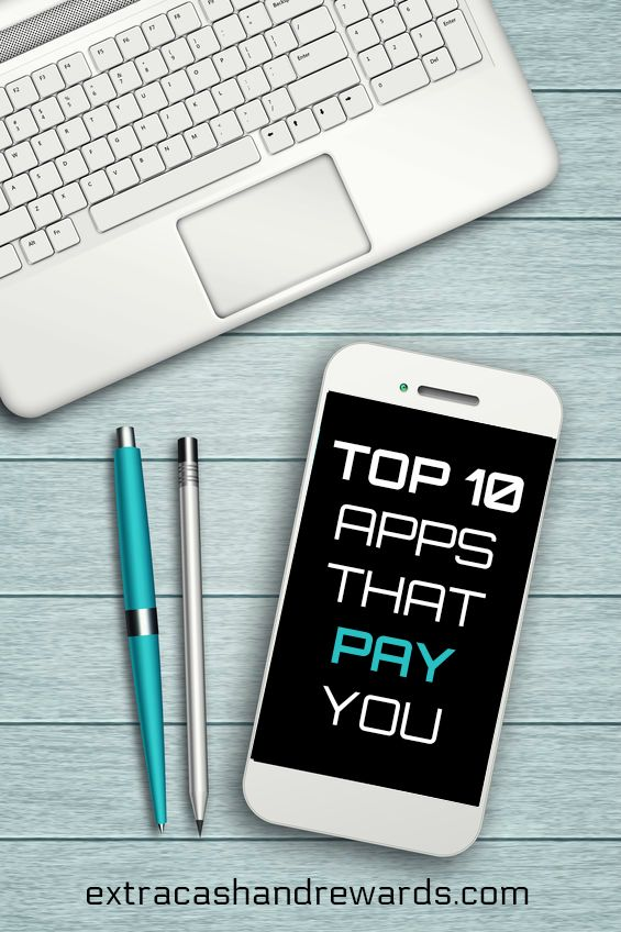 Top 10 smartphone apps that pay you! #appsthatpay #extramoney #smartphoneapps
