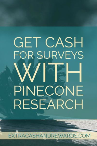 Get paid $3 a survey for taking paid surveys at Pinecone Research. #paidsurveys #pineconeresearch #extramoney