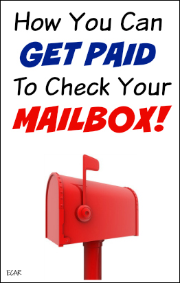 You can earn money by checking your mail (something you do every day anyway) by signing up to be a mail decoy agent! This post has info on where to sign up and how much you can expect to earn.