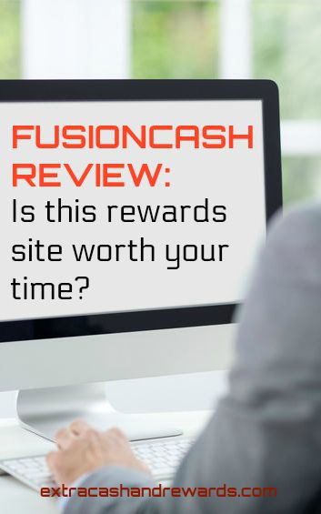 FusionCash review - Is this rewards site worth your time? #extramoney #rewardssites