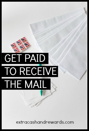 How to get paid to receive mail.