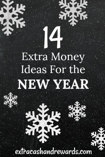 15 extra money ideas for the New Year. #makeextramoney #earnmoneyonline #extramoneyideas