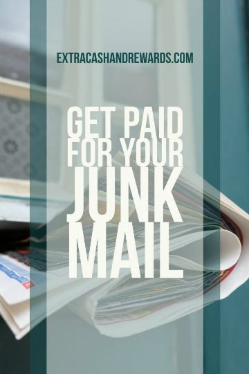 Get paid to send in your junk mail! #extramoney #paidtosendmail