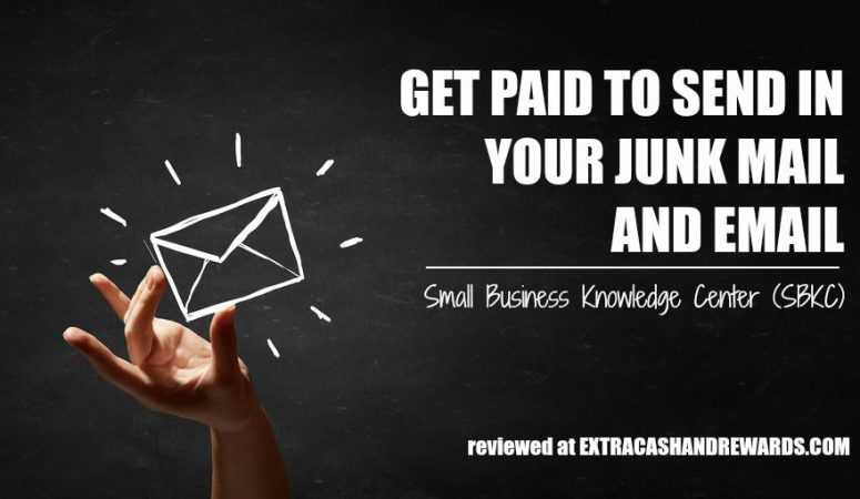 Get Paid to Send In Your Junk Mail to SBKC