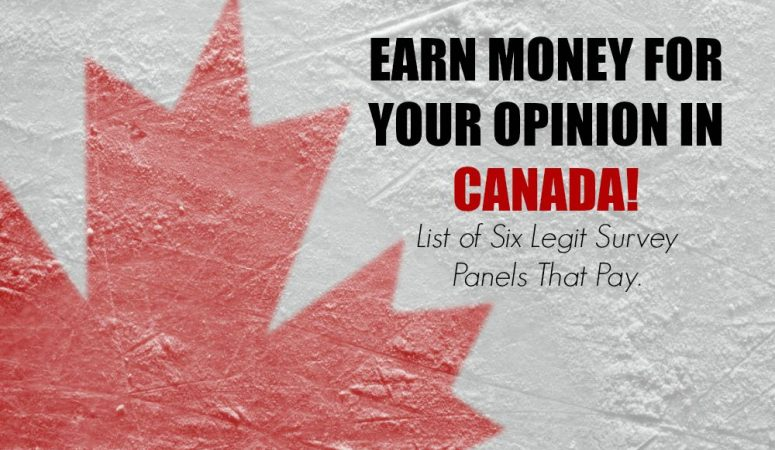 Paid Surveys for Canadians – Get Paid To Give Your Opinion