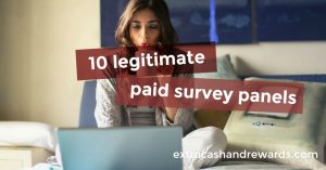 10 legitimate paid survey panels to sign up with today.