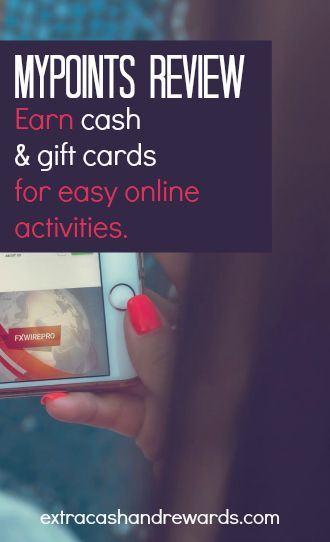 MyPoints review - earn cash and gift cards for easy online activities.