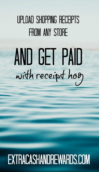 Receipt Hog Review - How to get paid for shopping anywhere. Just upload your receipts and earn.