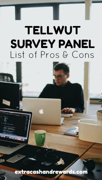 Tellwut survey panel - complete list of pros and cons to help you decide if you should bother.