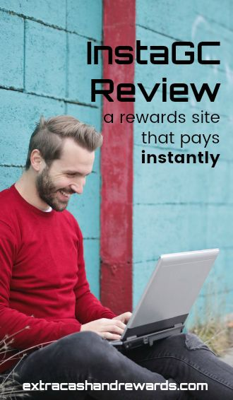 InstaGC review - a rewards site that pays instantly.