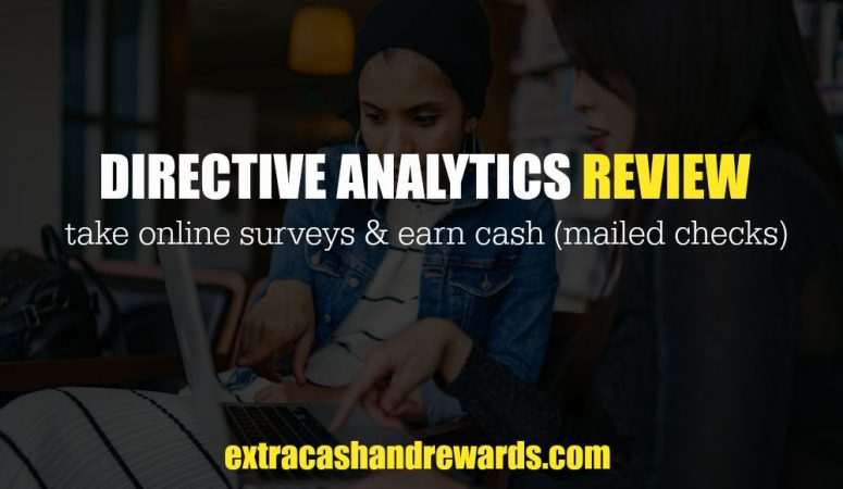 Directive Analytics Review – Earn Extra Cash Taking Surveys