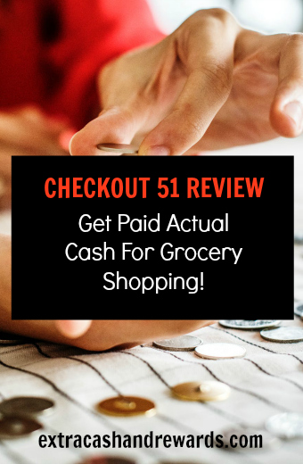 Checkout51 review - get paid cash for grocery shopping!