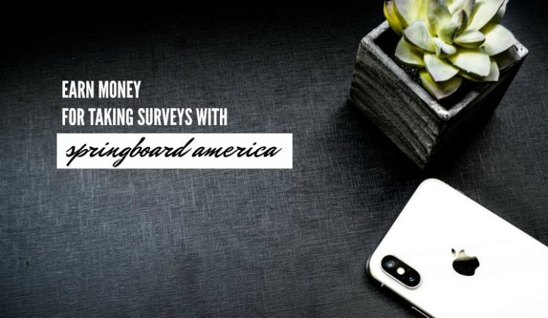 Springboard America Review – Earn Money For Answering Survey Questions