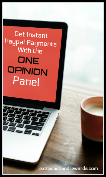 One Opinion review - You can get instant Paypal payments taking surveys for this panel. Open to many countries worldwide.