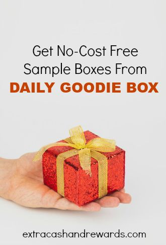 Get no cost free sample boxes from Daily Goodie Box!