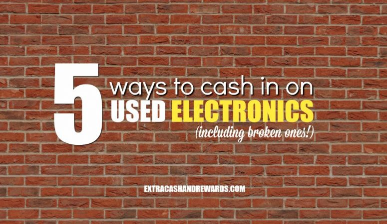 5 Ways To Cash In On Used Electronics – (Even If They're Broken)