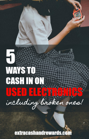 5 ways to cash in on used electronics (even if they're broken!)