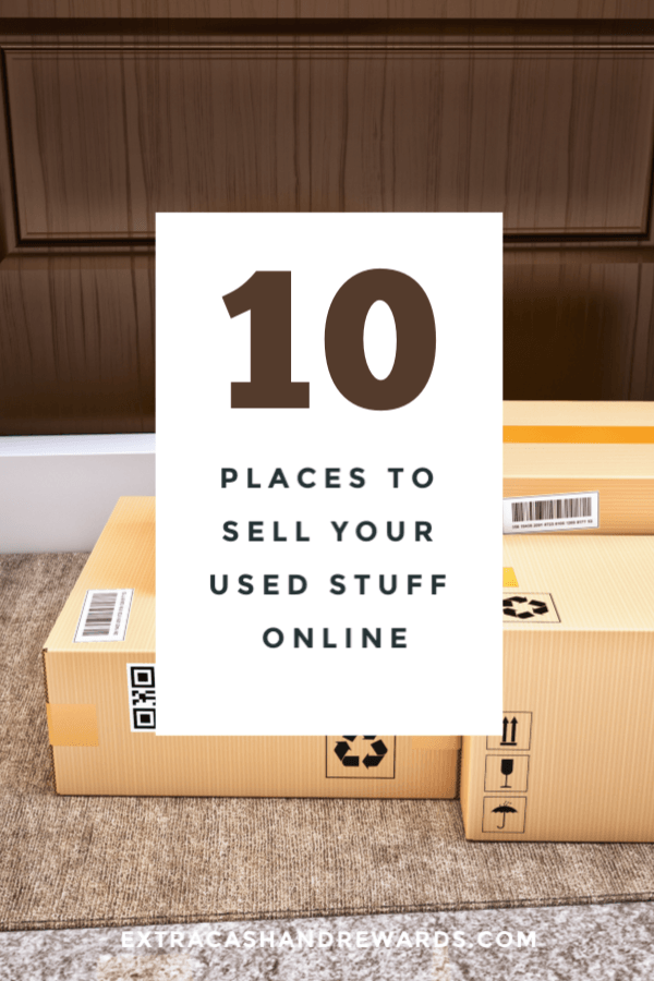 10 Places To Sell Your Stuff Online